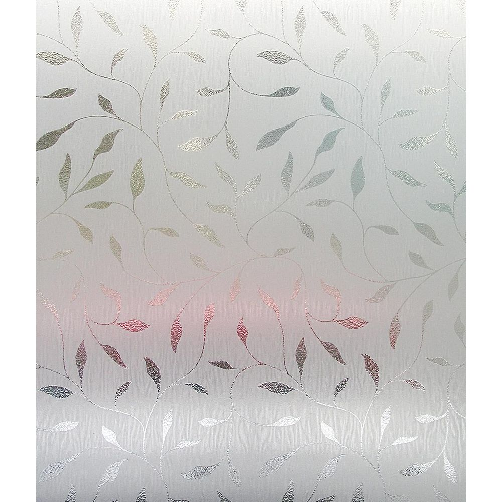 Artscape Etched Leaf Window Film - 24 Inch x 36 Inch