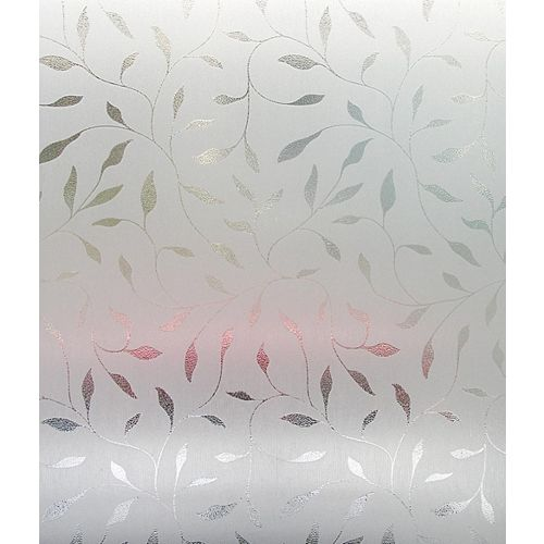 Artscape Etched Leaf Window Film - 24 Inch x 36 Inch
