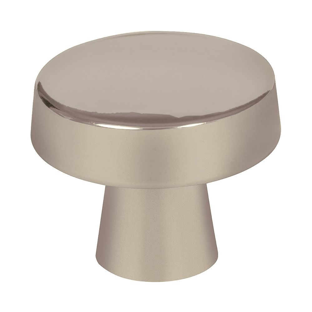 Amerock Blackrock 1-5/16-inch (33mm) DIA Knob - Satin Nickel