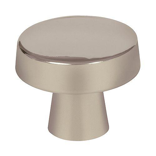 Blackrock 1-5/16-inch (33mm) DIA Knob - Satin Nickel
