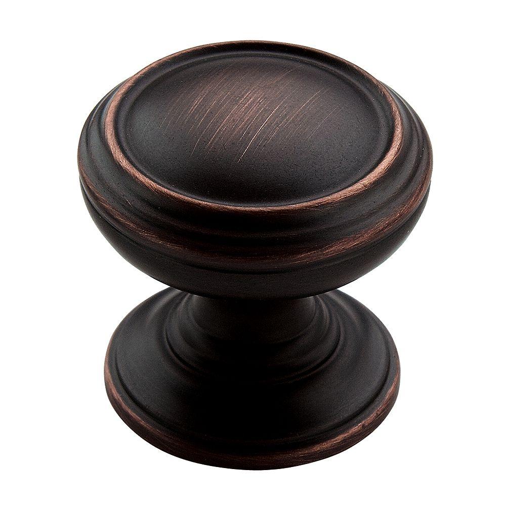 Amerock Revitalize 1-1/4-inch (32mm) DIA Knob - Oil-Rubbed Bronze