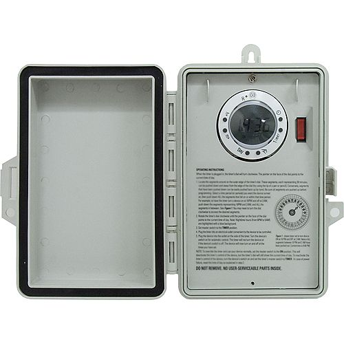 Outdoor 7 Day Digital Box Timer