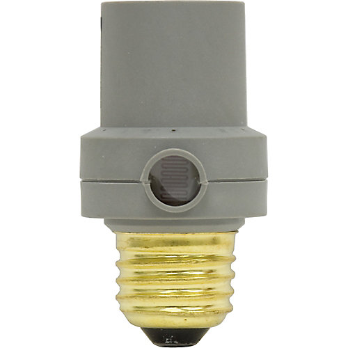 Commande de lumière du crépuscule à l'aube - Lampes fluocompactes