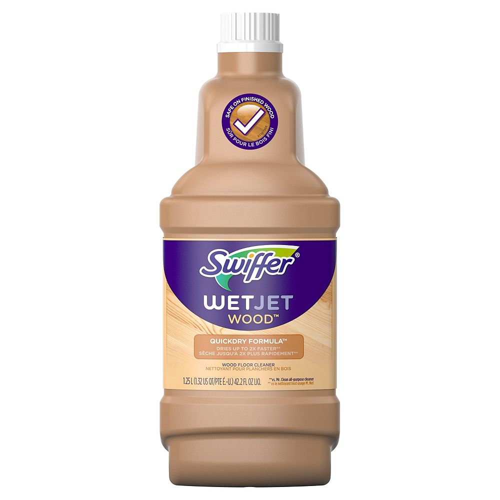Swiffer 1.25 L WetJet Wood Floor Cleaner Solution Refill