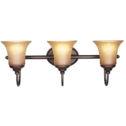 Envirolite 3-Light Tuscana  Bath Bar