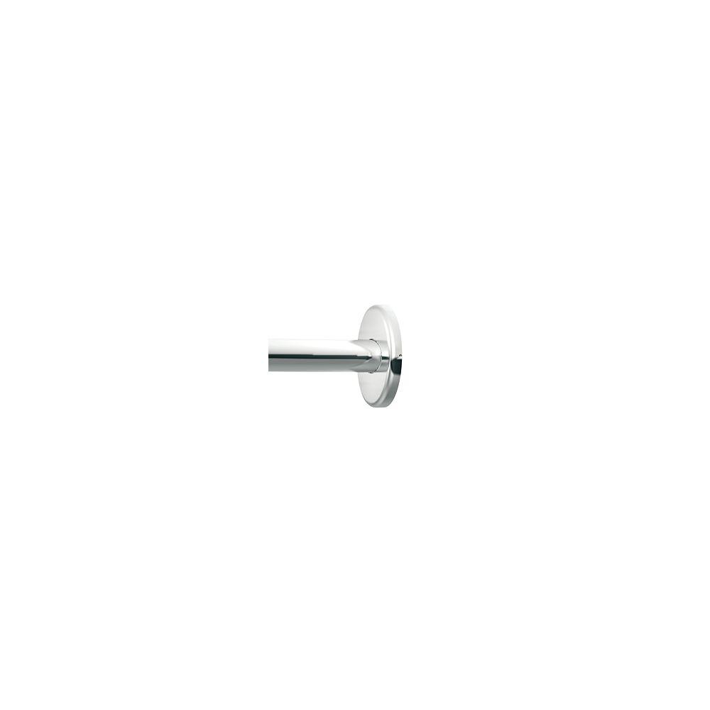 MOEN Adjustable Curved Shower Rod - Chrome