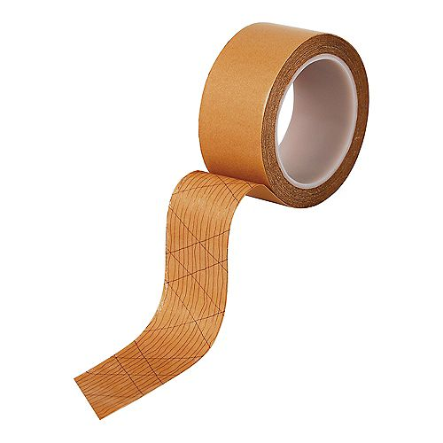 Roberts 1-7/8 Inch Wide Double-Sided Acrylic Adhesive Strip and Tape for Vinyl Sheet Flooring, 50 feet Roll