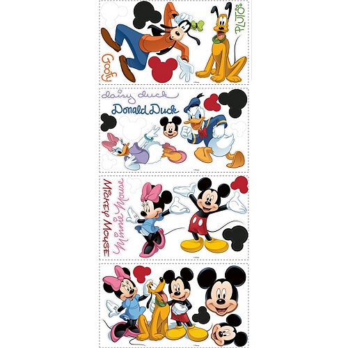Stickers Mauraux Mickey & Friends