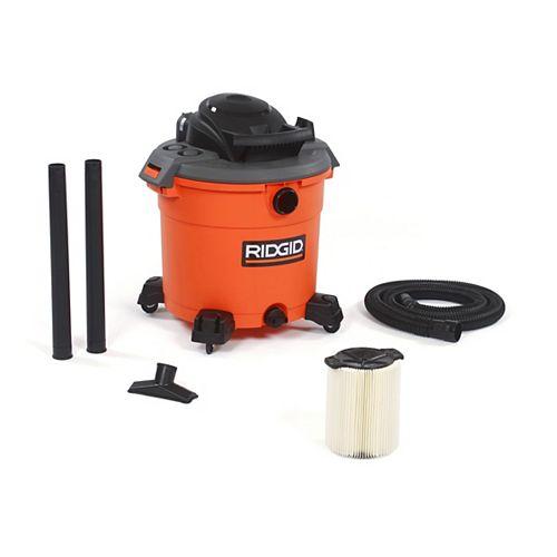 Aspirateur sec/humide 60 l (16 gal), 5,0 HP crête