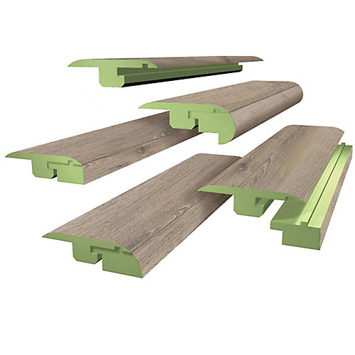 78-inch Fas-Trim Oak Chateau Laminate Flooring