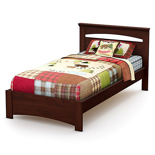 Tender Dreams Twin Bed in Royal Cherry