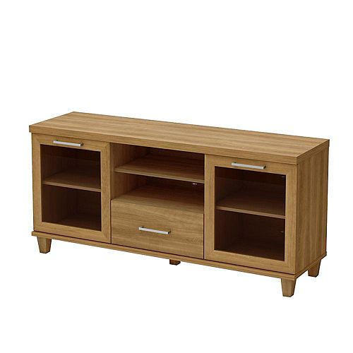 Adrian 17-inch x 28-inch x 60-inch TV Stand in Maple