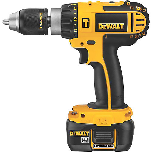18V Heavy Duty Lithium-Ion Hammer Drill Kit