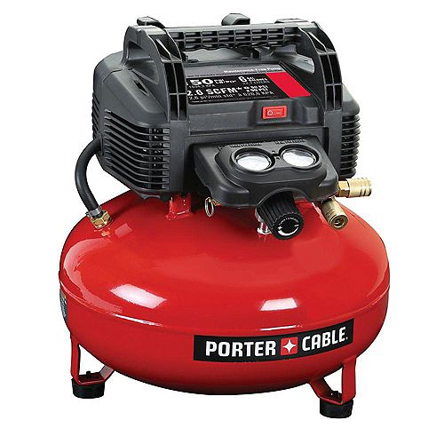 6 Gal. 150 PSI Portable Electric Pancake Air Compressor