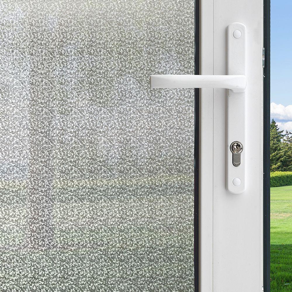 Gila Pellicule pour fenêtres intimité motif Matin dhiver de 0,9 m x 2,0 m (3 pi x 6,5 pi)
