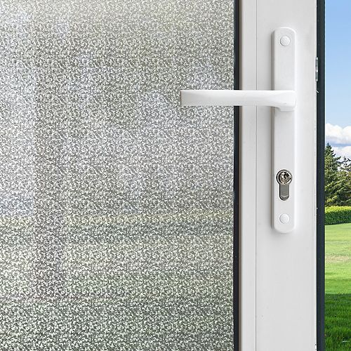 Winter Morning Privacy Control Window Film 3 feet x 6.5 feet