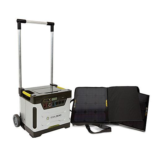Yeti Solar Generator Kit