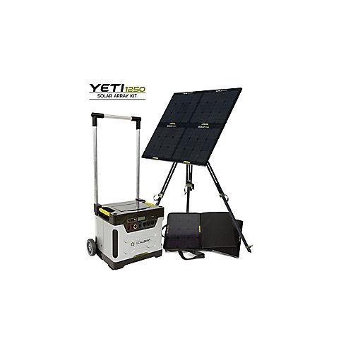 Trousse de dispositif solaire Yeti 1250