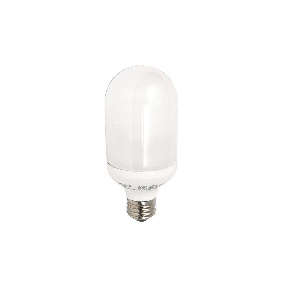 Philips LFC de lampadaire extérieur EnergySaver 14W = 60W Blanc doux (2700K)