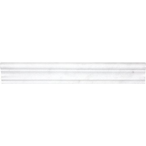 Rail de chaise Bianco de 2 po x 12 po pour chaise adoucie Bianco