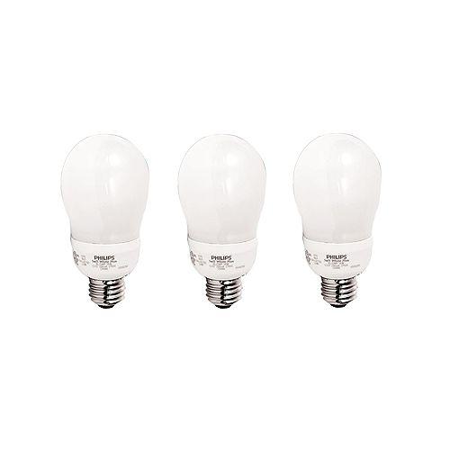14 Watt A19 Soft White - (3-Pack)