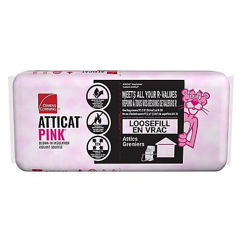 AttiCat Expanding Pink Fiberglas Blown-In Insulation System