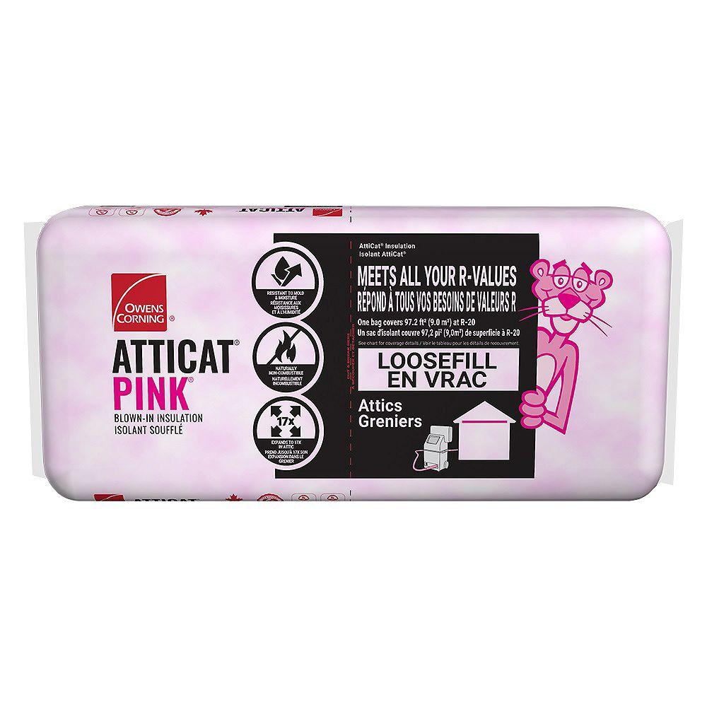 Owens Corning AttiCat Expanding Pink Fiberglas Blown-In Insulation System