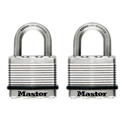 "Master Lock Master Lock Magnum Cadenas lamine 2"" 2Pk"