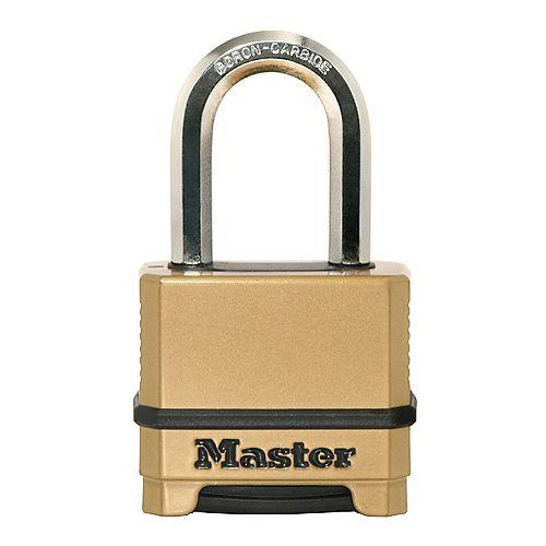 """Master Lock Magnum 2"""" Cadenas à combinaison interchangeable with 1-1/2"""" l'arceau"""