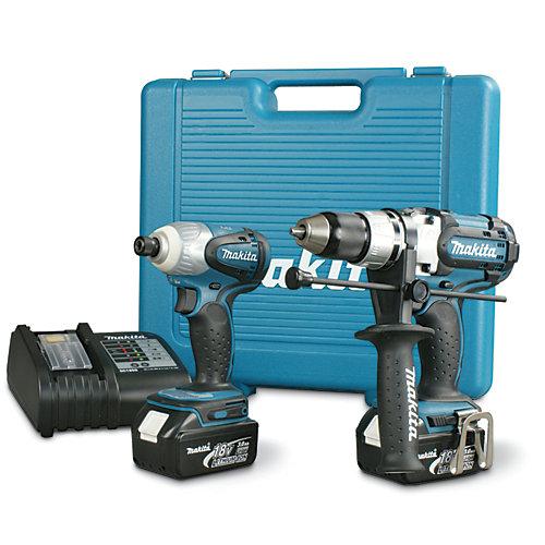 18V 2-Piece Cordless Combo Kit