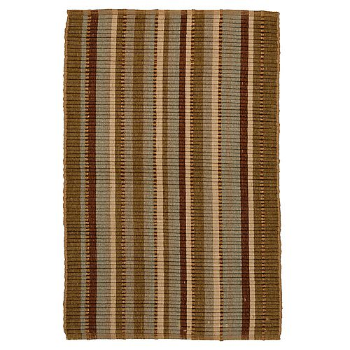 Lanart Rug Jaipur Brown 2 ft. 3-inch x 4 ft. Indoor Contemporary Rectangular Mat
