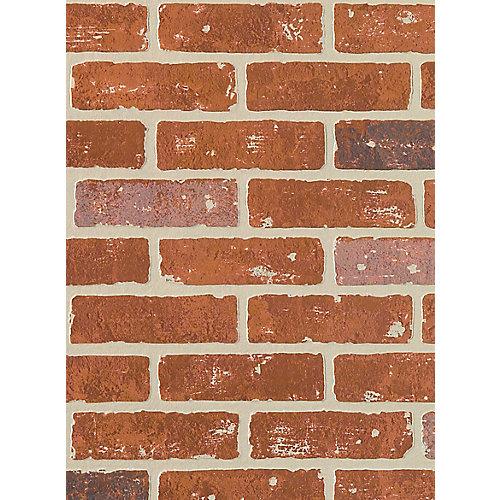 Panneau décoratif mural style mur de brique