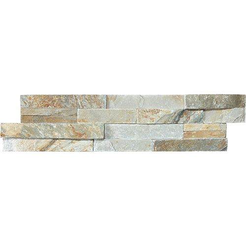 Costa Ledgestone 6-Inch x 24-Inch Strip Tile