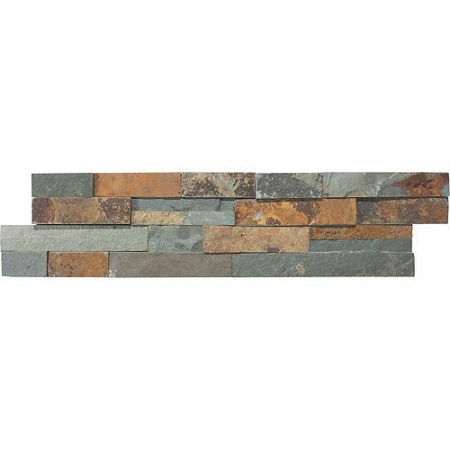 Dorada 6-inch x 24-inch Ledgestone Strip Tile