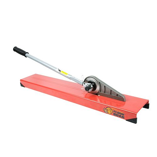 Floor Boar Laminate Cutter with Manual, Dust-free Operation for Laminate Wood up to 1/2 Inch Thick