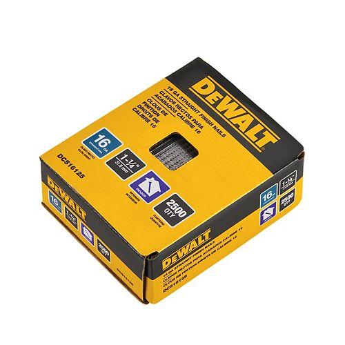 1-1/4-inch x 16-Gauge Glue Collated Finish Nail (1000 per Box)