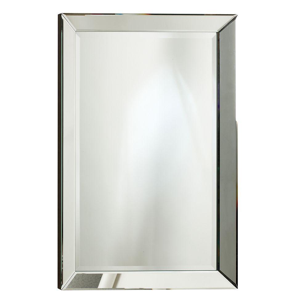 The Tangerine Mirror Company Miroir Royal, cadre décoratif fini miroir  30 po x 70 po