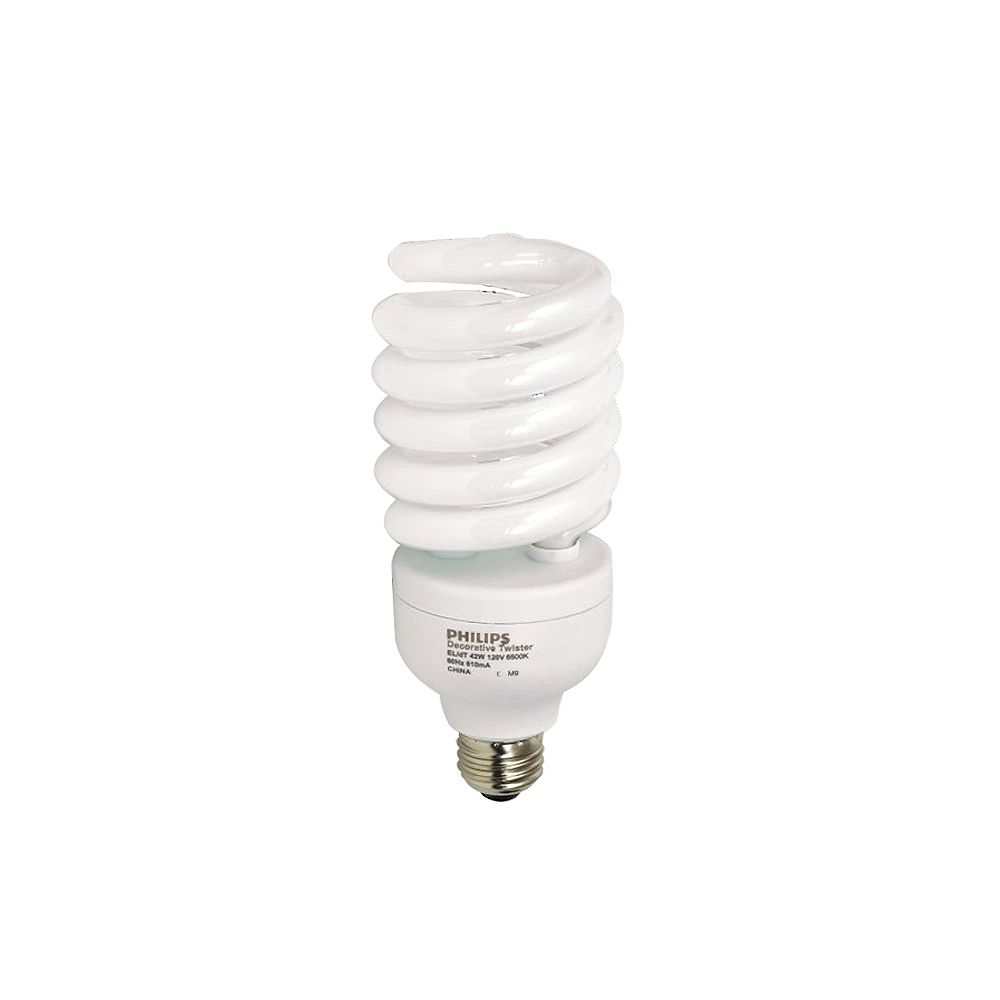 Philips CFL 42W = 150W Twister Daylight (6500K)