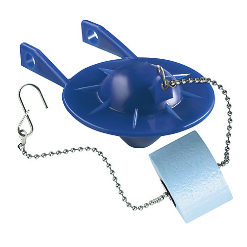2-inch Blue Flapper with Float for Various 2-Piece Toilets