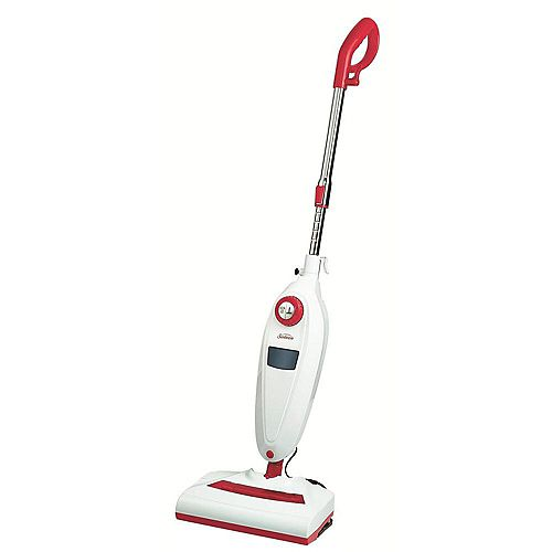 2 in 1 Steam Sweeper Raspberry