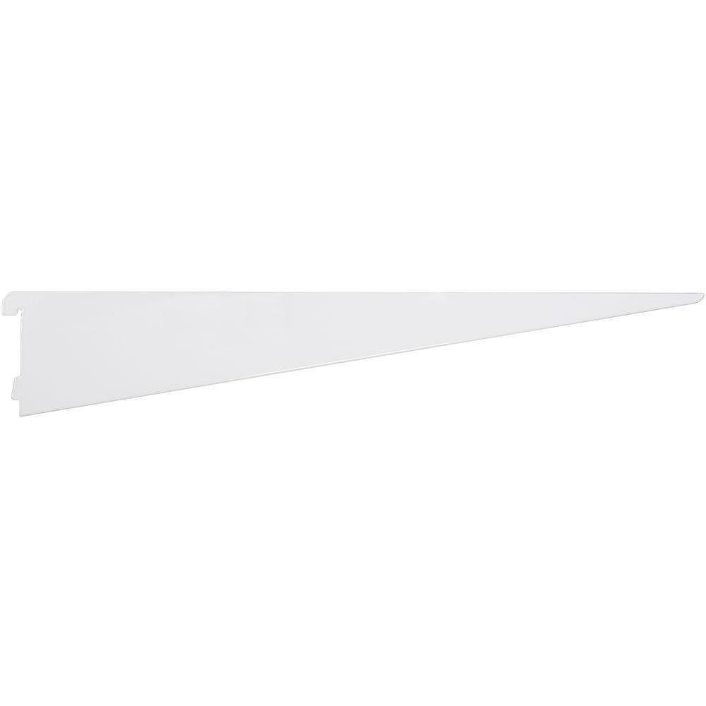 Rubbermaid 24 inch  White Twin Track Bracket