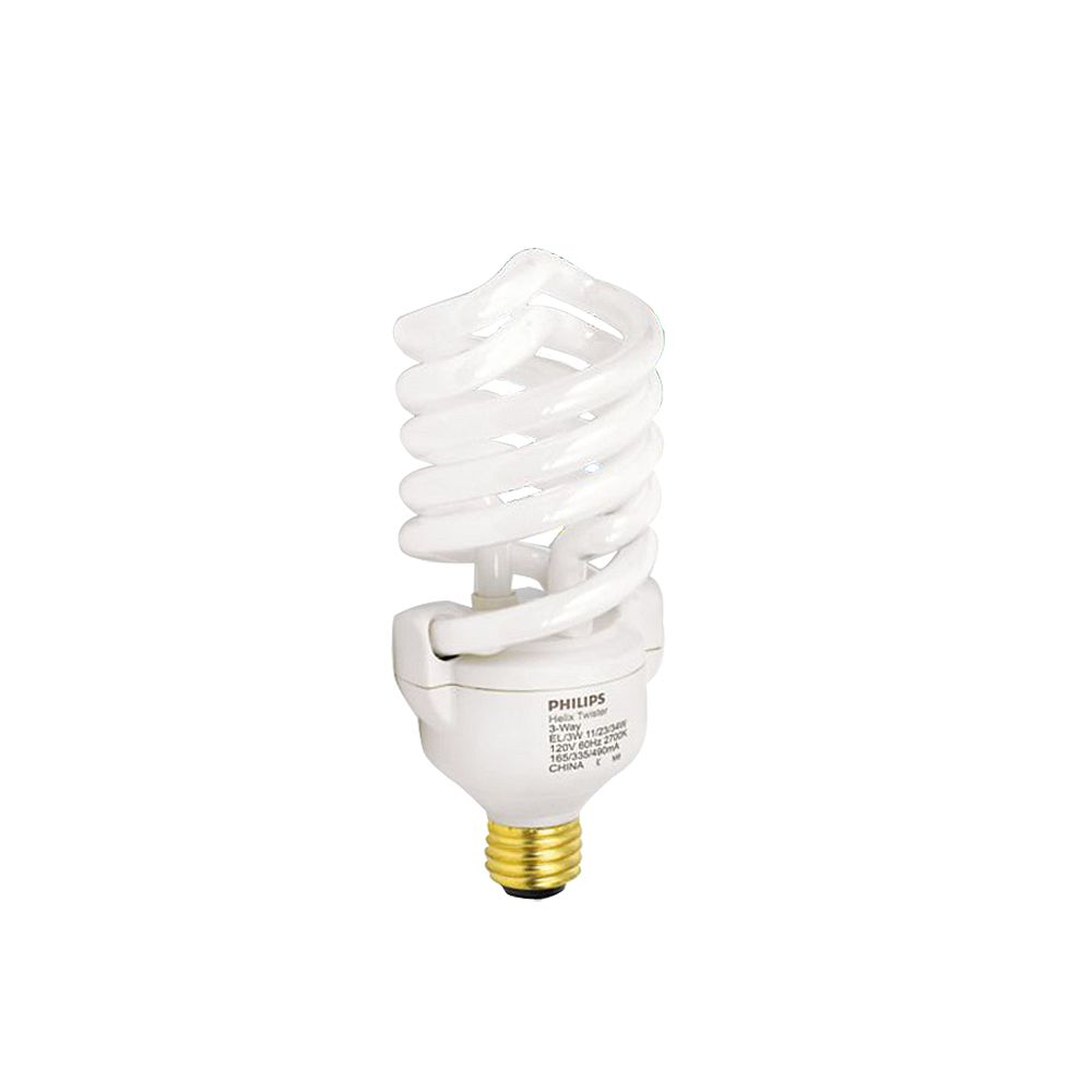 Philips CFL 11/23/34W = 50/100/150W Trilight Soft White (2700K)