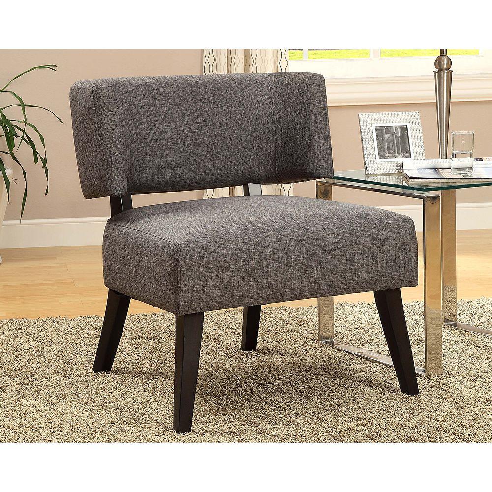 Worldwide Homefurnishings Inc. Nassau Accent Chair - Charcoal