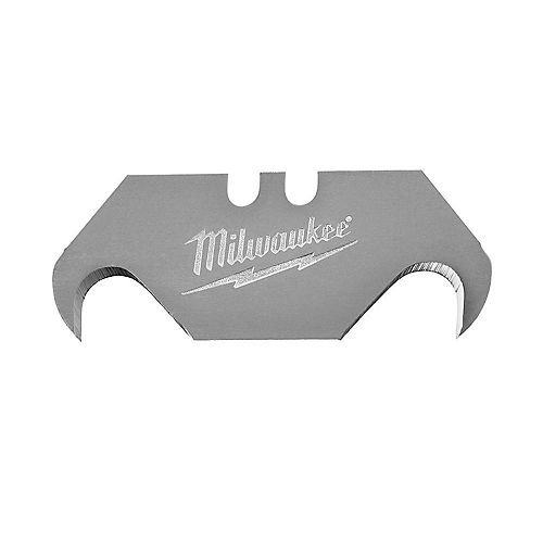 Milwaukee Tool Jeu de 50lames à crochet pour couteau universel avec distributeur