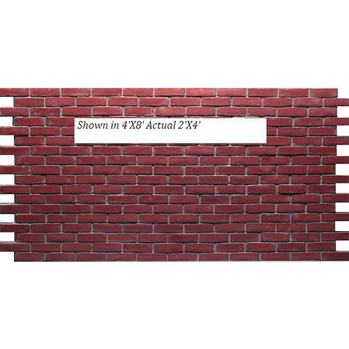 Professional Series Aged Brick Panel 2X4