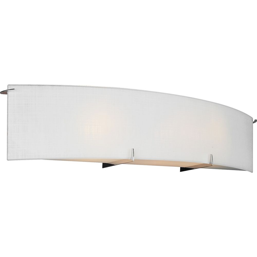 Shawson Lighting 24-inch Wall Sconce in Chrome