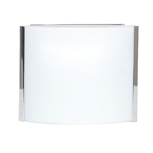 5-1/8-inch Wall Sconce in Chrome Finish