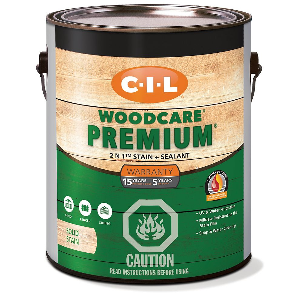 CIL Woodcare Premium Solid - Deep Base 3.30 L-3015