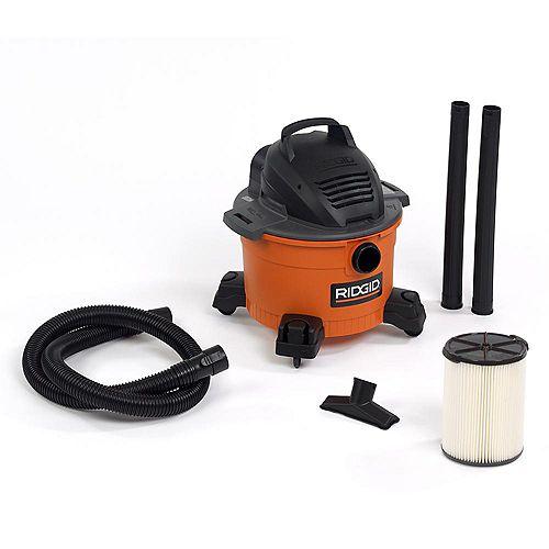 Aspirateur sec/humide 22.5 litres (6 gal), 3,5 HP crête