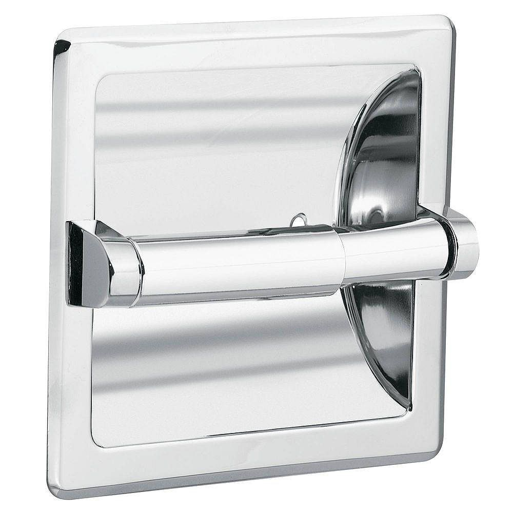 Moen Donner Commercial Recessed Toilet Paper Holder In Chrome The Home Depot Canada